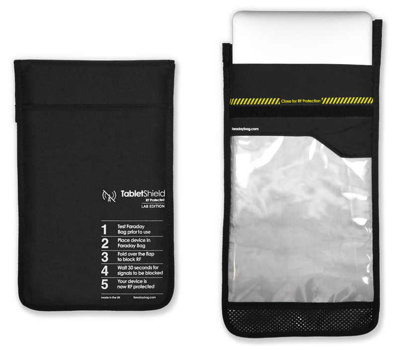 Disklabs Faraday Bag – TabletShield 2