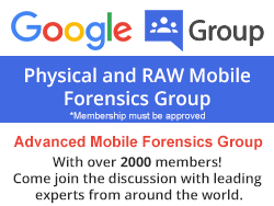 Mobile Forensics Google Group